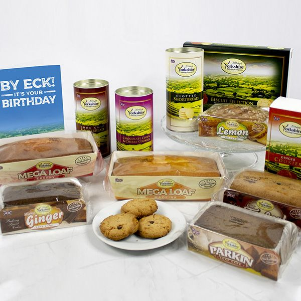 Yorkshire Hamper with By Eck! Birthday Card