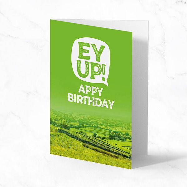 Ey Up! Appy Birthday
