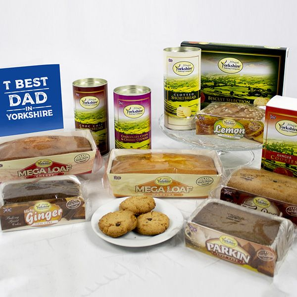 Yorkshire Hamper with T Best Dad Card