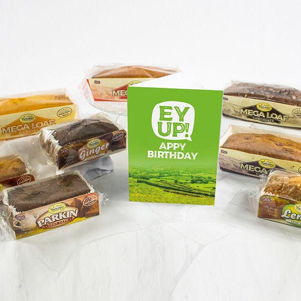 YBC Classics Box with Ey Up! Birthday Card