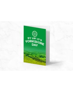 Ey Up! It's Yorkshire Day Card