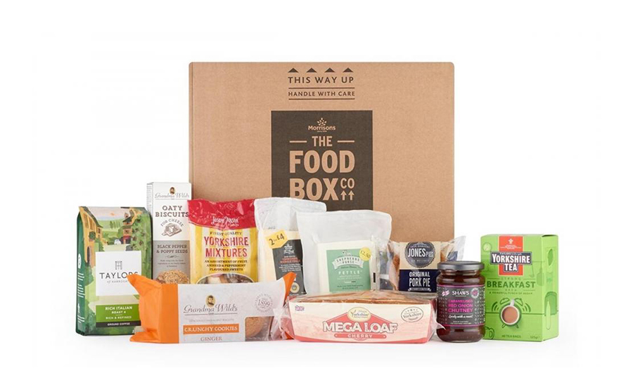 Morrisons Launch Box Including YBC Loaf